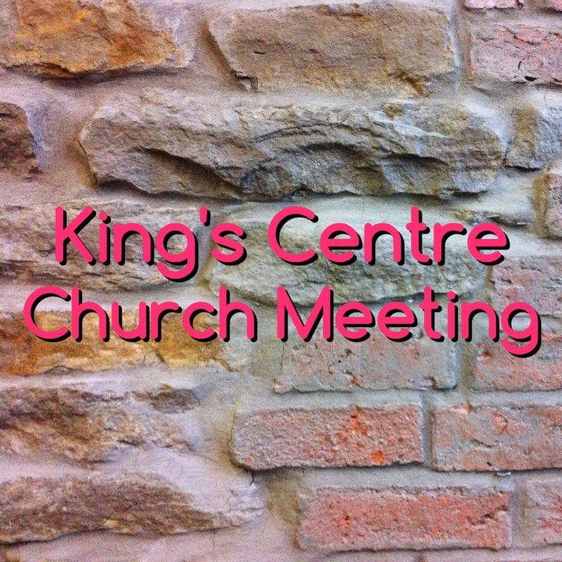 KC Church Meeting