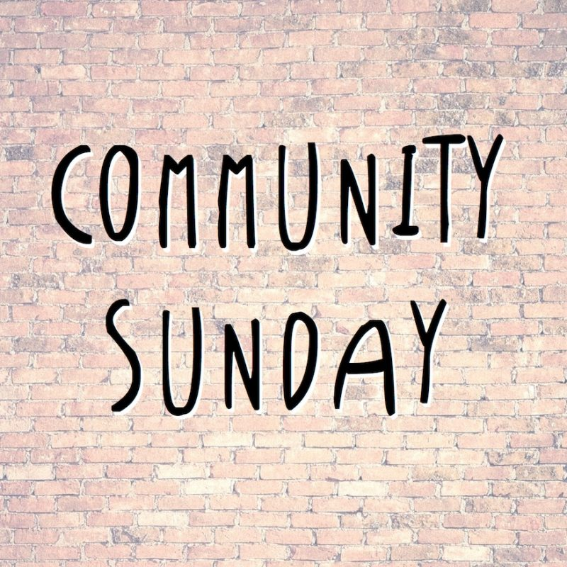Community Sunday