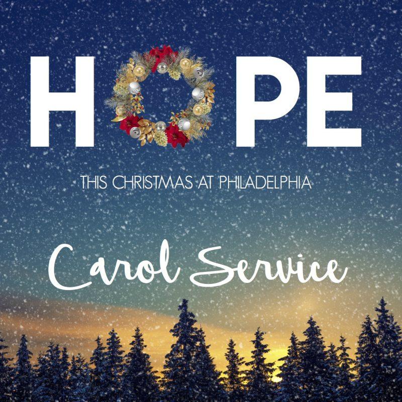 Carol Service – Philadelphia
