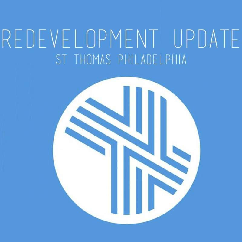 Update on Redevelopment Plans
