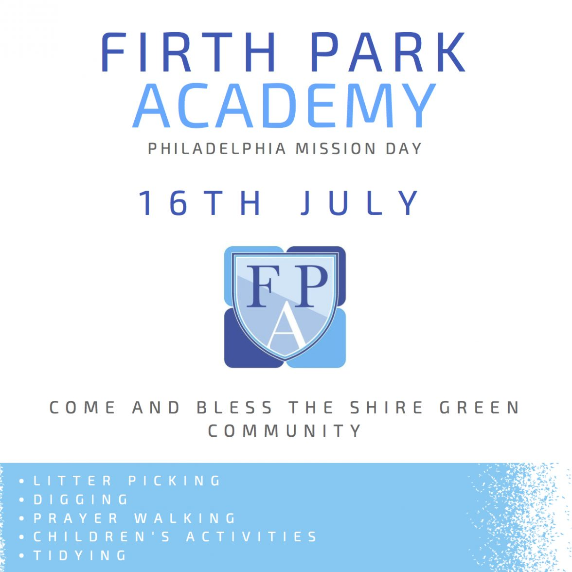 Firth Park Academy Mission Day