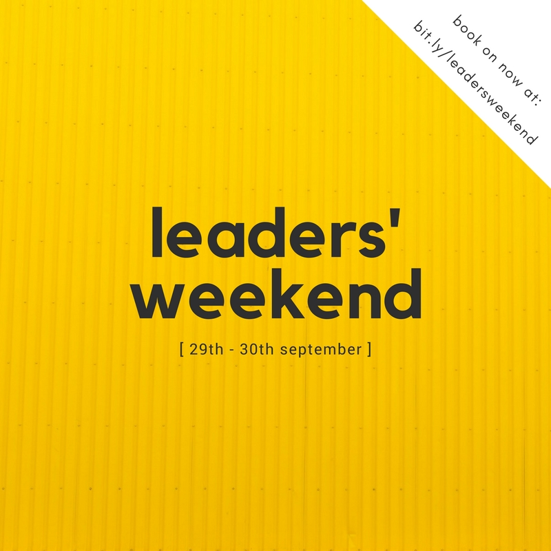 Leaders' Weekend