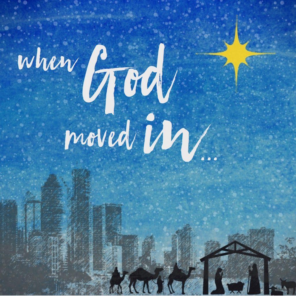 God moved in