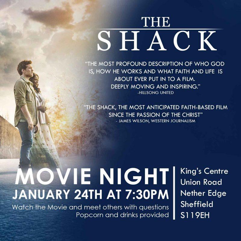 The Shack – Movie Night
