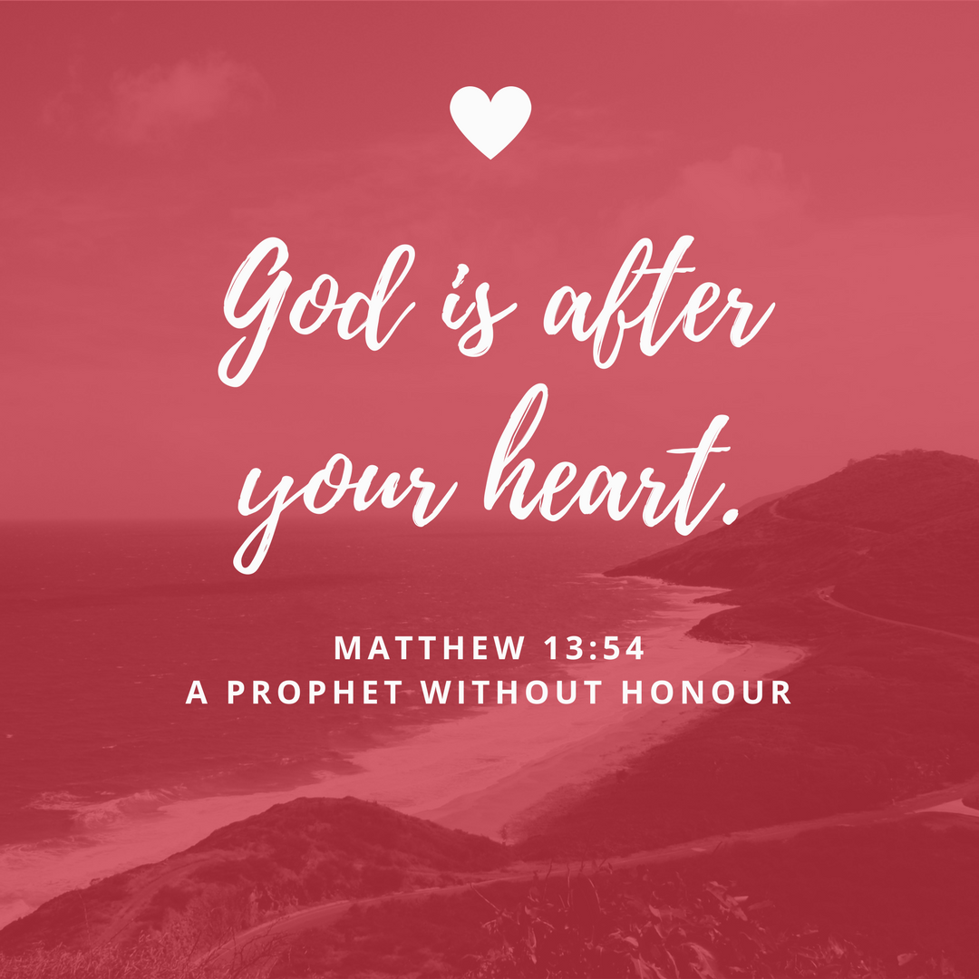 God is after your heart