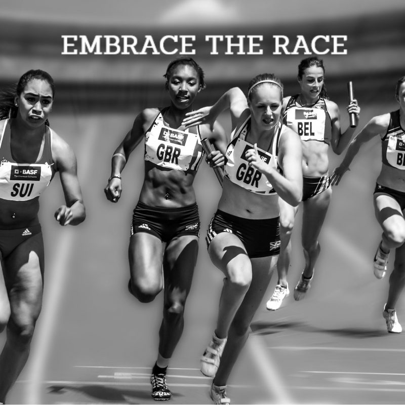 Embrace the race