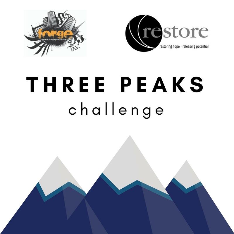 Forge + Restore 3 Peaks Challenge