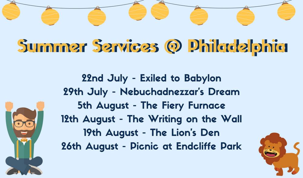 Summer Services @ Philadelphia