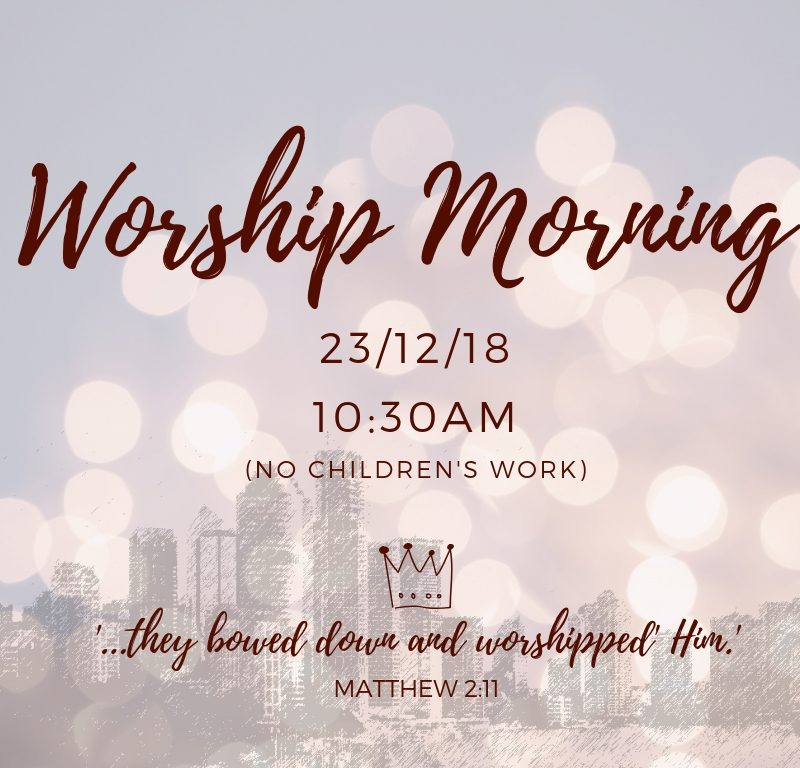 Worship Morning