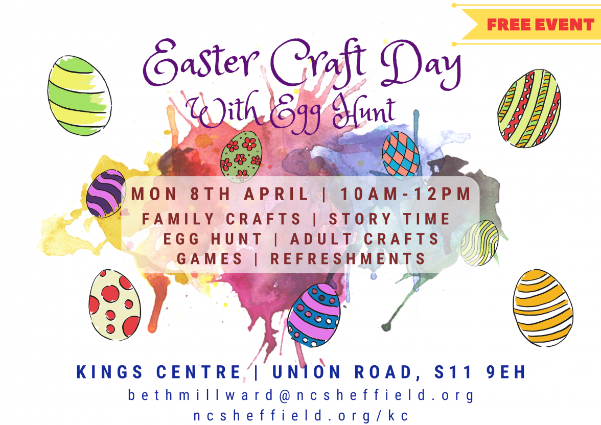 Easter Craft Day With Egg Hunt Network Church Sheffield